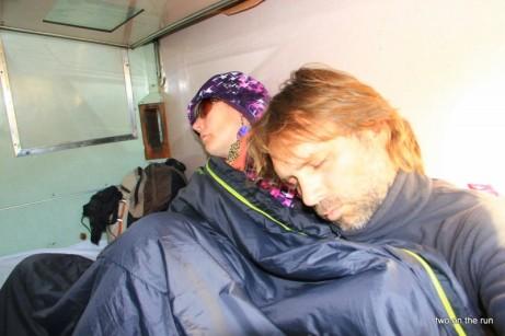 Zug nach Victoria Falls - nicht Authorisierter Schnappschuss unserer Kamera