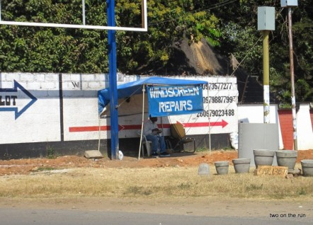 Car Glass in Sambia