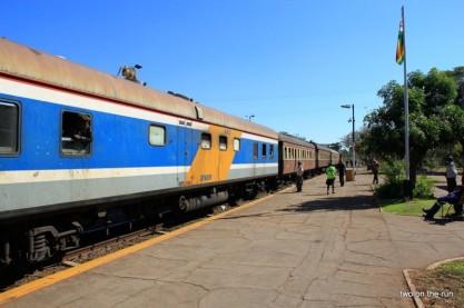 Ankunft in Victoria Falls
