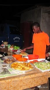 Essen an der Straße