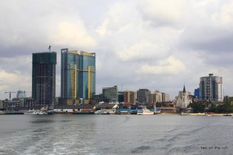 Abfahrt von Dar-Es-Salaam nach Zanzibar