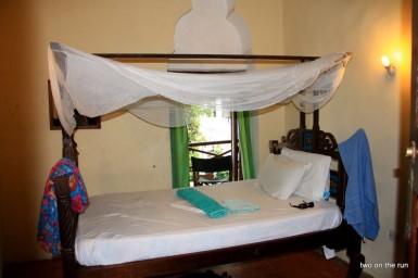 typisches Zanzibari Bett