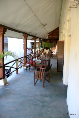 Unser Balkon in Stone Town