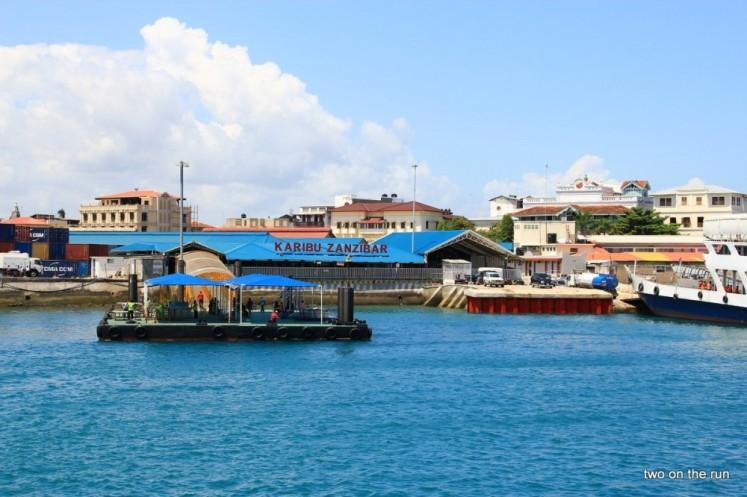 Abfahrt von Zanzibar