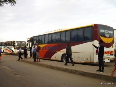 Dar-Es-Salaam Busbahnhof
