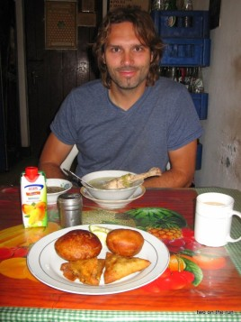 Frühstück...