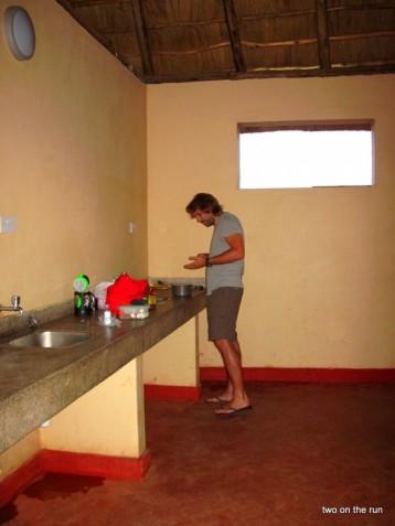 Kochen im Hostel