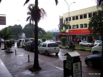 Kampala - Regenpause