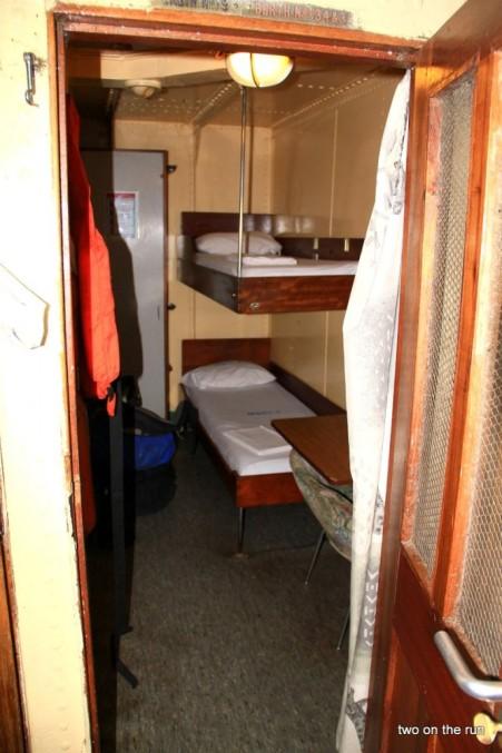Unsere Kabine auf der MV Victoria