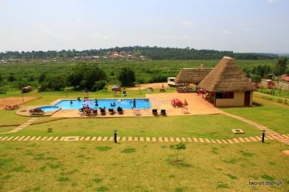 Unser Hostel in Kampala