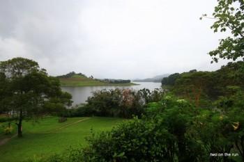 Am Lake Bunyonyi