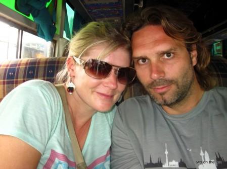 Wir auf Busreise