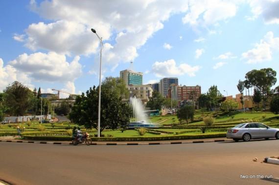 Kigali Stadtzentrum