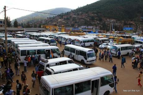 Ein bisschen afrikanischer - Busstation Kigali