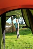 Beim Zelten - Guten Morgen Angie
