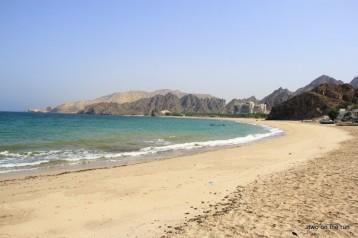 Irgendwo am Strand in der Nähe von Muscat