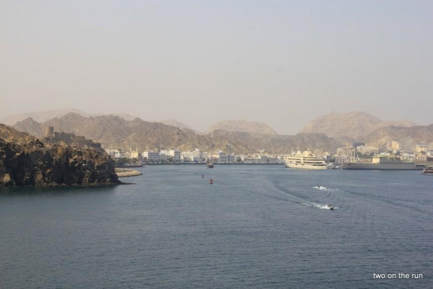 Blick auf die Altstadt von Muscat