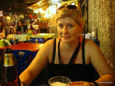 Straßenrestaurant in Bangkok