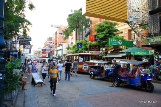In Bangkok - Khao San Road