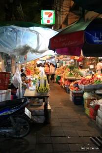 In Bangkok - Blumenmarkt