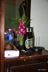 In Bangkok - Stillleben im Hostelzimmer