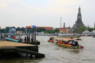 In Bangkok - Am Ufer des Chao Phraya
