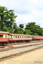 In Bangkok - Thonburi Railway Station