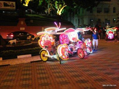 Melaka - Fahrradtaxi