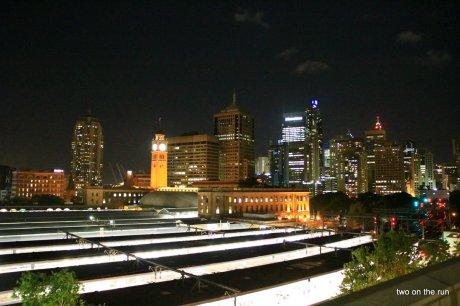 Sydney - Blick vom Hostel
