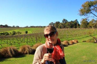 Bei der Weinprobe in Margaret River