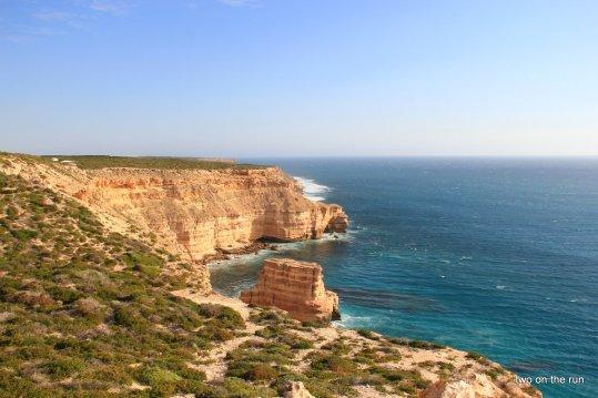 Unterwegs mit Alex und Wolfgang in Western Australia - Küste bei Kalbarri