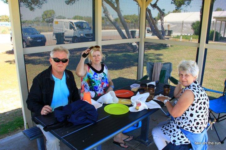 Unterwegs mit Hansi und Evi - Nambung NP - Lunch in Lancelin