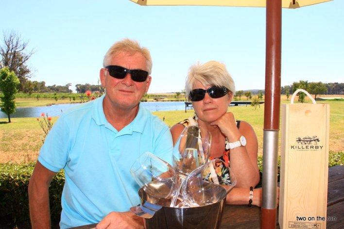 Unterwegs mit Hansi und Evi - Weinprobe in Margaret River