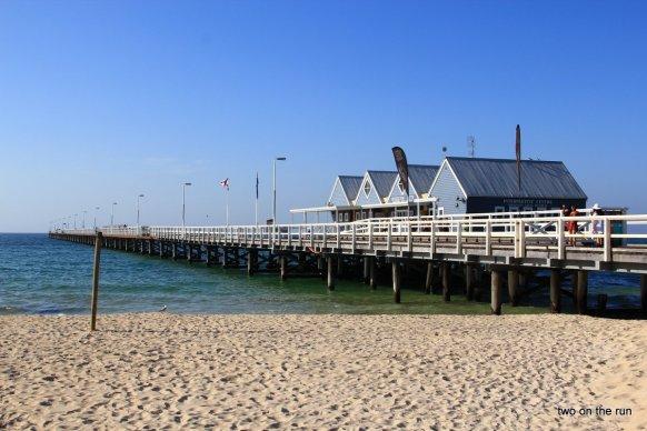 Unterwegs mit Hansi und Evi in Western Australia - Jetty in Busselton