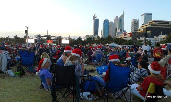 Öffentliches Weihnachtssingen in Perth