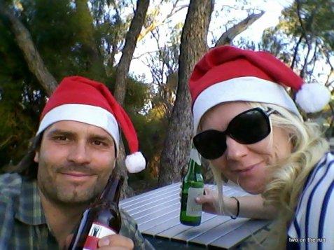 Weihnachtsurlaub - Unterwegs in Western Australia - Am Wave Rock