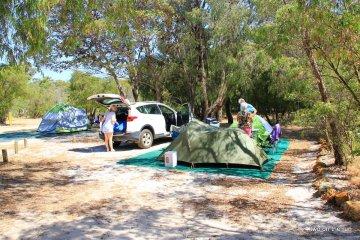 Mit Hansi und Evi in WA unterwegs - Zelten in Margaret River