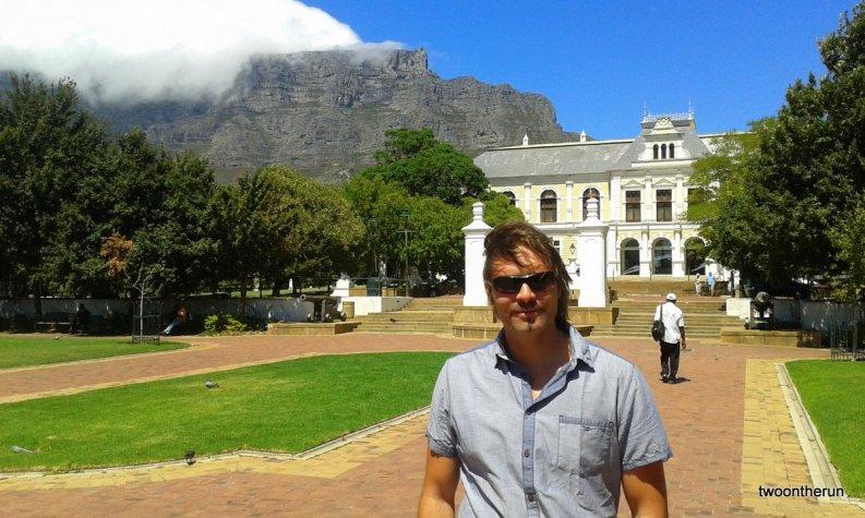 Company`s Garden mit Blick auf den Tafelberg