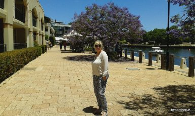 East Perth Sonntagsspaziergang