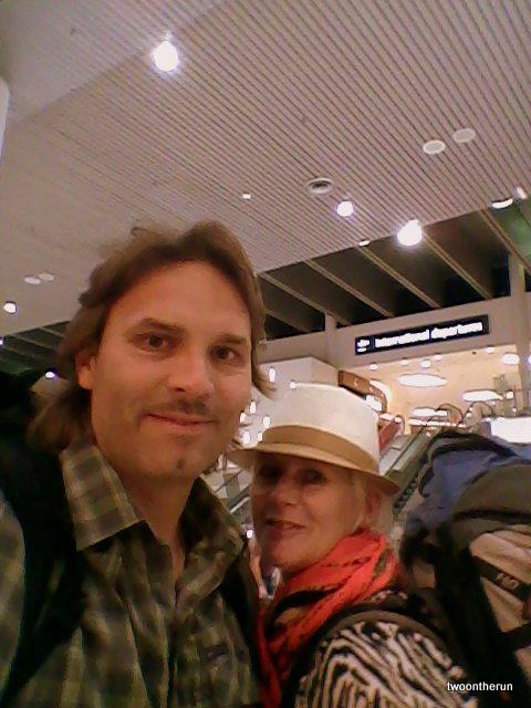 Los gehts - Airport Perth