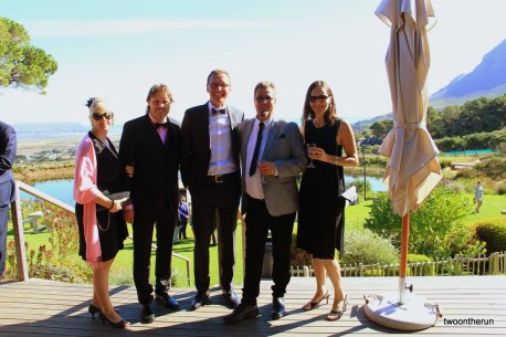 Lutz, Karen, Dirk und wir