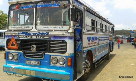 Sri Lanka - öffentlicher Bus