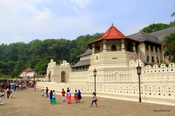 Sri Lanka - Kandy - Zahn Tempel