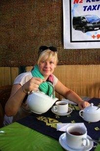 Sri Lanka - Ella - Guten Morgen mit Tee