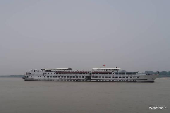 Fährfahrt nach Bagan - Road to Mandalay