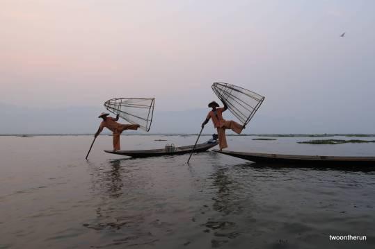 Inle Lake - Fischer Tanzgruppe
