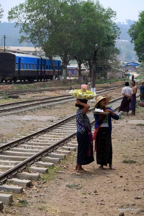 Zugfahrt nach Kalaw