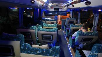 Bus nach Yangon