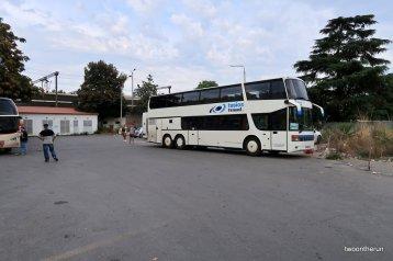 Bus zur mazedonischen Grenze