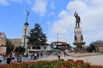 Skopje - Philipp II - Vater von Alexander